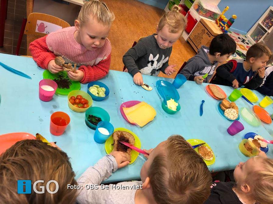 Schoolontbijt in Stad aan t Haringvliet - iGO.nl Nieuws Goeree Overflakkee
