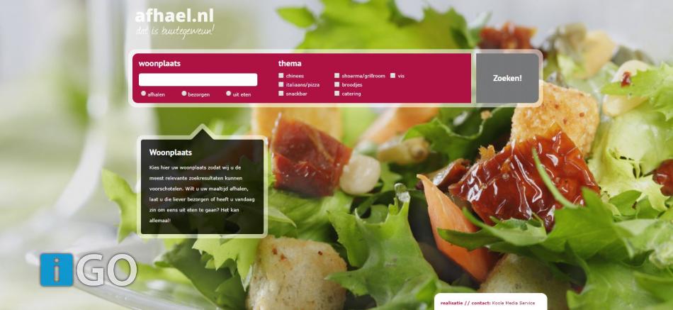 Vanavond niet koken? Steun lokale ondernemers: www.afhael.nl = buutengeweun!