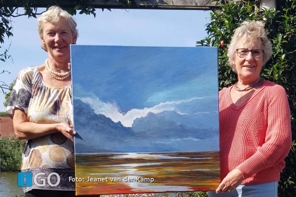 Expositie schilderijen Jeanet vd Kampin Van Weel Bethesda Ziekenhuis