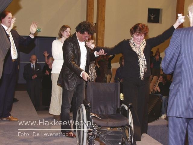 janneke vlot weer in rolstoel