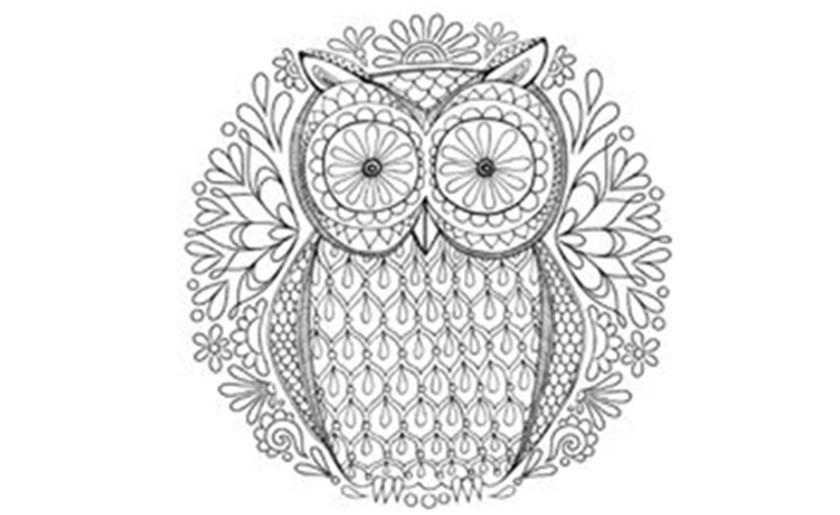 mandala tekenen- inspiratieworkshop volwassenen in middelharnis