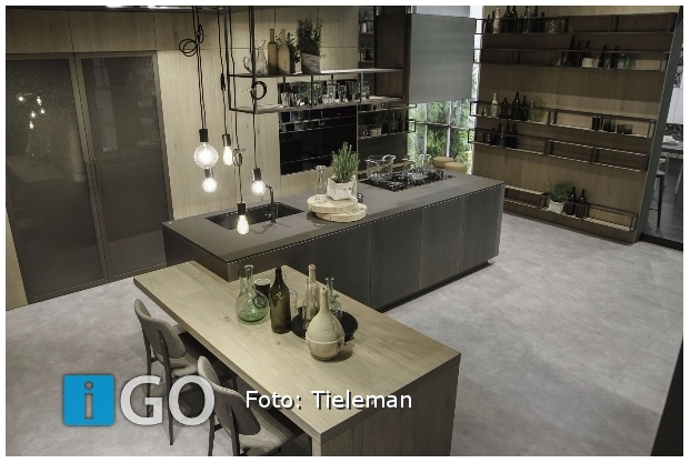Europese Keuken Modellen : Igo zakelijk nieuws europese primeur in showroom tieleman