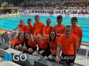 Zwemteam Goeree-Overflakkee actief bij Swimcup in Eindhoven