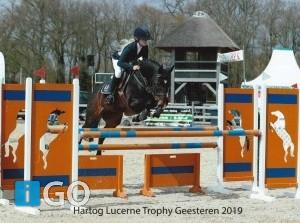 Yvonne van Dis (Stad aan 't Haringvliet)beste in KNHS-Hartog Lucerne Trophy