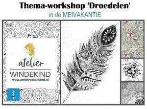 Thema-workshops voor kids bij atelier in Middelharnis