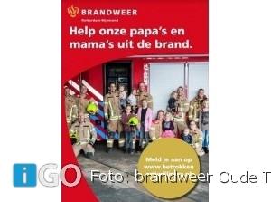 Brandweerlieden Oude-Tonge zoeken nieuwe collega's