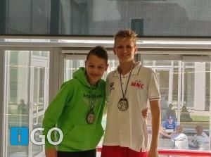 Mooie zwemprestaties bij Internationale wedstrijd