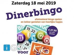 Diner-Bingo voor het goede doel: Kika