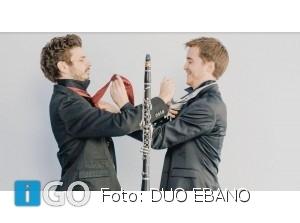 Duo EBANO bespeelt klarinet en piano in de Overkant