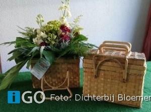 Workshop Koffers pakken, bij Dichterbij Bloemen