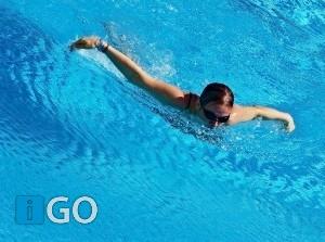 Eilandelijk zwemteam succesvol zwemwedstrijd <12 jaar
