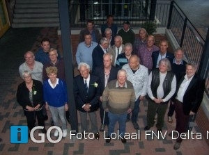 Lokaal FNV Delta Noord viert jaarlijkse huldigingsavond Sommelsdijk