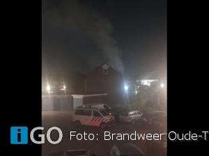 Brandweer naar woningbrand Jupiterhof Oude-Tonge