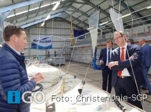 Kandidaat europarlementariër ChristenUnie-SGP, Ruissen bezoekt Goeree-Overflakkee
