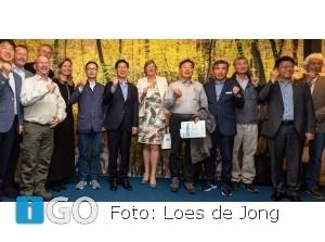 Zuid-Koreaanse delegatie enthousiast project Getij Grevelingen