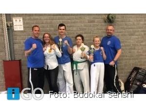 100% score Budokai Senshi op Ned Kampioenschap Ashihara Karate