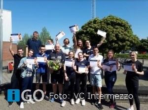VolleybalClub Intermezzo leidt nieuwe (hulp)trainers op