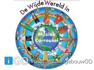 Muziekgebouw GO - feestelijke eindpresentaties Muziekcarrousel 'De wijde wereld in'