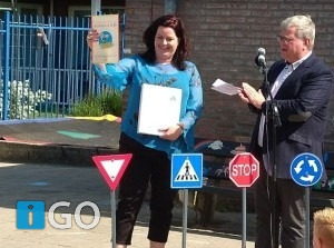 School op SEEF Verkeersveiligheidslabel CNS Zomerland Stellendam