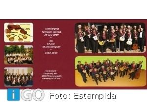 Mandolineorkest Estampida zet er na 37 jaar een punt achter