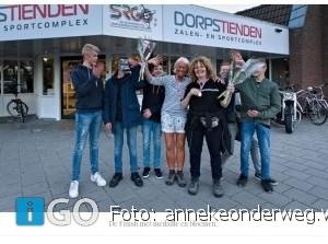 Samen met Janneke de Ouddorpse Avonddriedaagse lopen is een feest