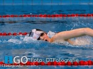 Floris Tanis kampioen van Zuid Holland 400 meter vrije slag