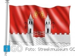 Hang met Portdagen de stadsvlag van Goedereede uit!