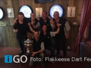 Dartshop Kattestaart 1 wint de dubbel op Goeree-Overflakkee