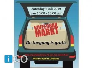 Welkom bij kofferbakmarkt in Dirksland