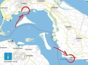 Negatief zwemadvies strand Herkingen en Ouddorpse haven