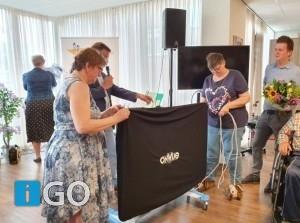 [video] Rally Rotary G-O overhandigde cheque 10.000 euro aan de Stove
