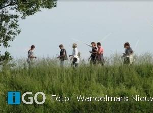 Geweldige opkomst bij wandelmars Nieuwe-Tonge