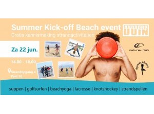 Summer Kick-off Beach event