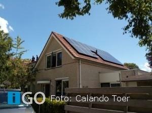 Calando Dirksland blij met eerste zonnepanelen opbrengst Calando Toer