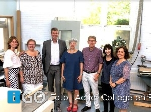 Actief College en RGO Middelharnis krijgen subsidie om techniekonderwijs te versterken