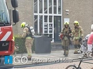 Brandweer naar woningbrand Wittenhorststraat Stad aan 't Haringvliet