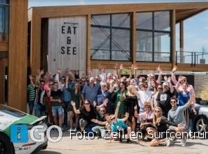 Geslaagde 3e ALS-autotour met eerste stop Brouwersdam Ouddorp