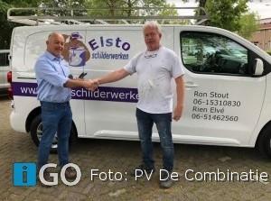 Piet de Vogel wint Grote Prijs Elsto