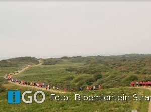AV Flakkee organiseert 35e Bloemfontein Strandloop Ouddorp + wandeltocht