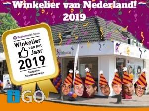 Telecombinatie Middelharnis beste lokale retailer van Nederland