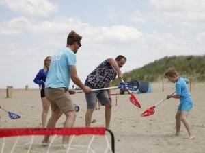 Strandactiviteit: Lacrosse