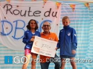 DBGC Jeugdkamp crowdfundingsactie 750 euro voor KIKA
