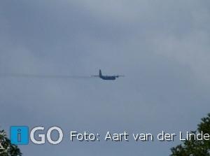 Koninklijke Luchtmacht vliegt over Goeree-Overflakkee voor TV-opname