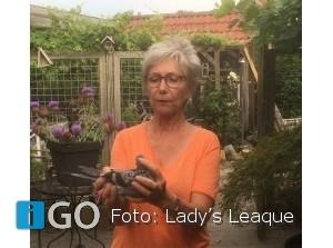 Heléne Zwackhalen wint eerste Lady's Leaque