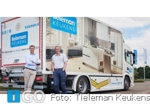 Scania en Tieleman Keukens verlengen samenwerking met splinternieuwe vrachtwagen
