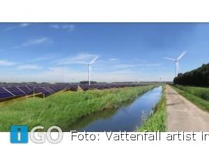 Eerste hybride energiepark van Europa bij Haringvliet Goeree-Overflakkee