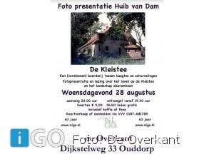 Lezing en fotopresentatie Huib van Dam: De Kleistee