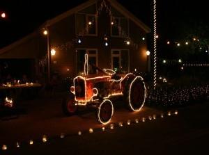 Lichtjesfietstoer Ouddorp