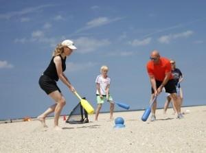 Beach sports tournament