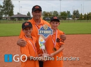 Honkballers Islanders representeren Oranje in Polen